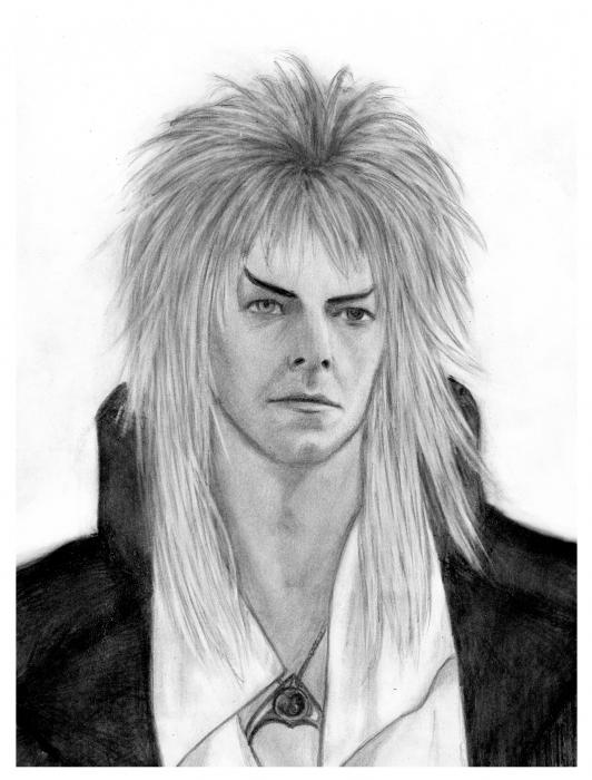 David Bowie by indigo21